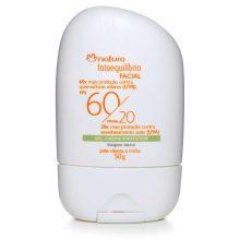 a2f92c0c9 Gel Creme Protetor Facial FPS 60  FPUVA 20