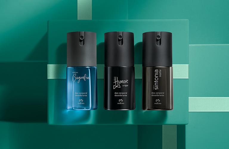 Presente Natura Trio De Desodorantes Corporais